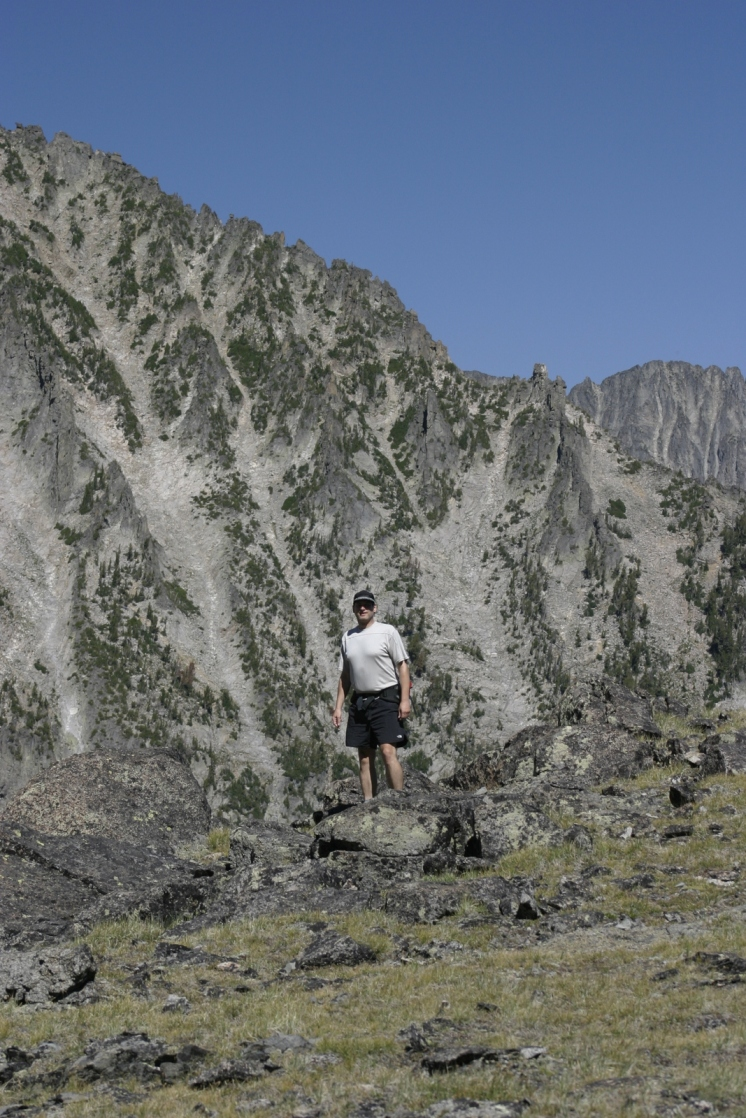 Elements of Trip into the Crazy Mountain Range in Montana