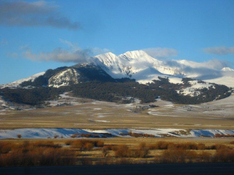 Entering Montana