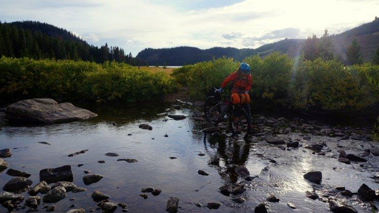 Mo crosses Little Bear Creek