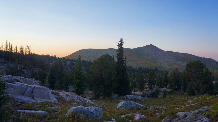 Morning on Beartooth Butte