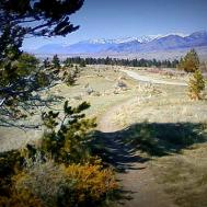 On top of Pete's Hill on the Bozeman Trail