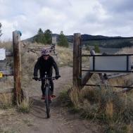 Mo finishes riding Calf Creek
