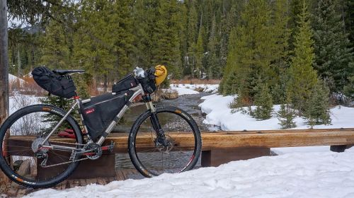 Bike-packing out of Hyalite