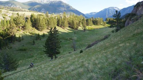Boulder River Area Mountain Biking