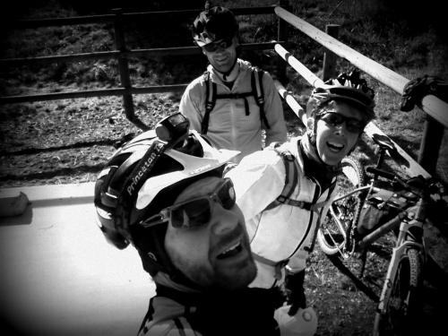 Myself, Laurie, and Aaron at Kona Bridge