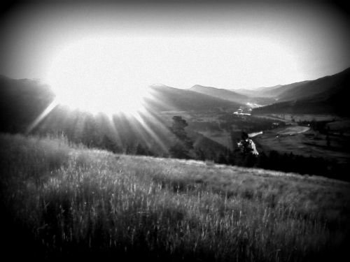 Morning sun on Jumbo Saddle