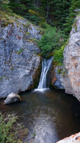 Upper Willow Creek Falls