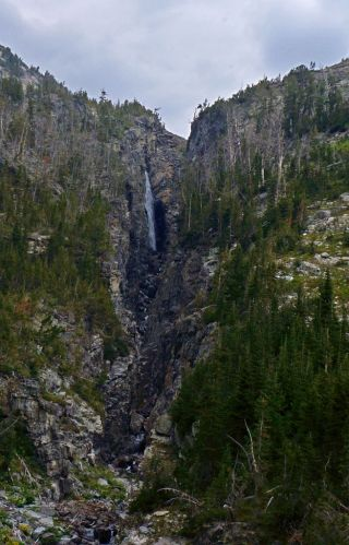 Rock Lake Headwall
