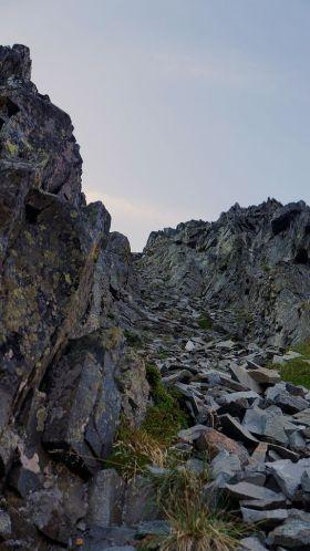 End of climb