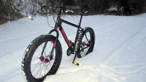 """Larry"", my snow bike is for sale"