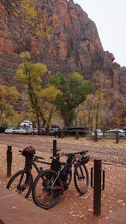 Bikes in Zion
