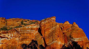 Evening Sun on Cliffs