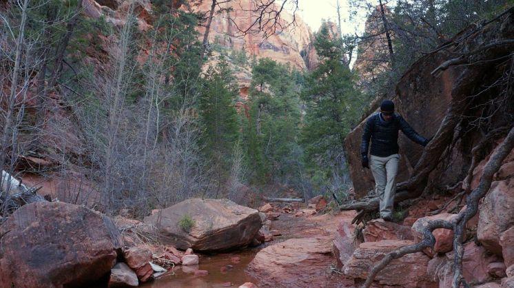 Walking Kolob Canyon