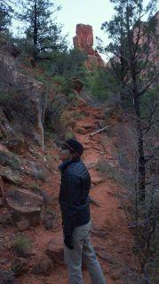 Hiking Out of Kolob Canyon