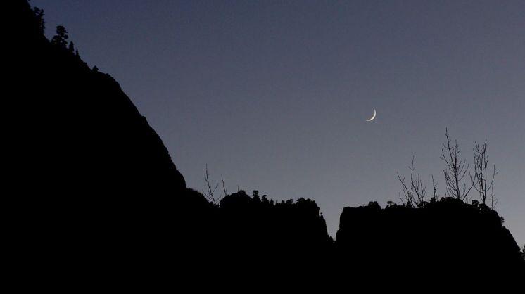 Moon over Kolob