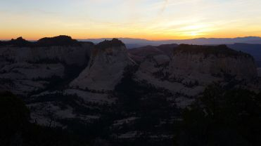 Sunset on Ivins