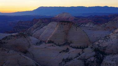 Sunset on Zion Foothills