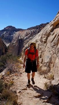 Bill on West Rim Trail