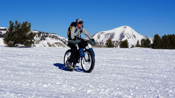 Snow Biking Buck Ridge
