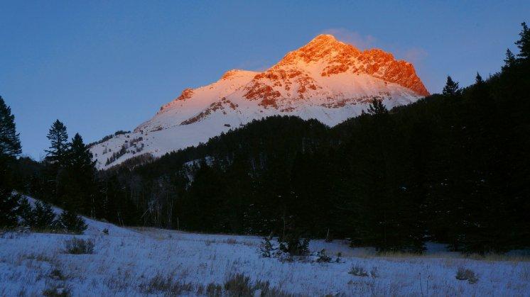 Evening on Sphinx Mountain