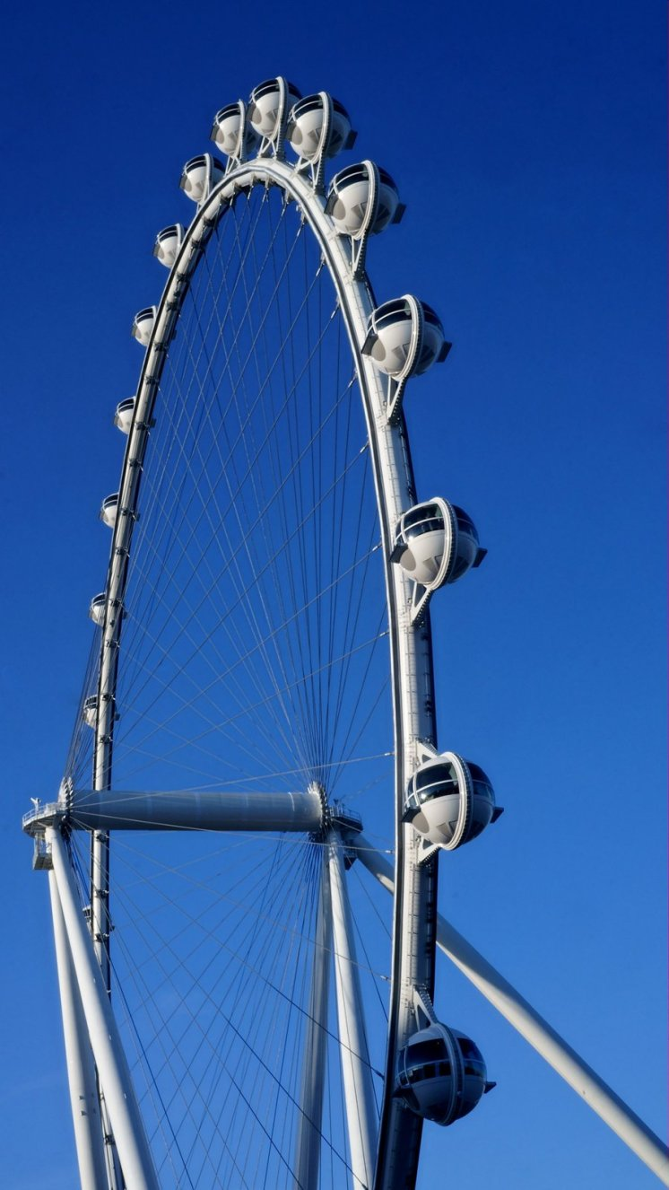 The big wheel in Vegas