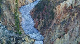 Waters of the Grand Yellowstone Canyon