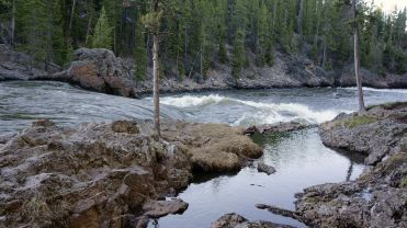 Back along the Yellowstone