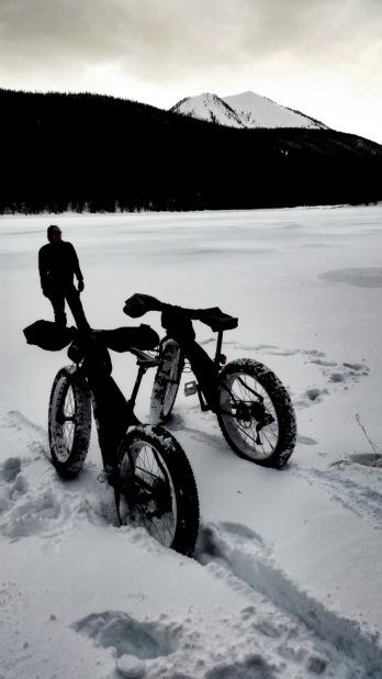 Finally at the lake