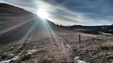 Trail Creek sunrise