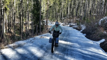 Mo heading up Goose Creek