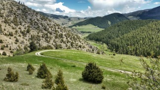 The climb to the top of Brownback Gulch