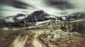 Mo heads towards Boulder Pass