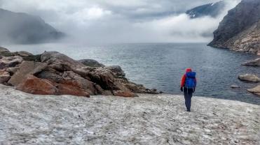 Mo breaks back to Glacier Lake