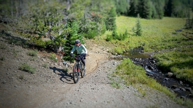 Emerald Lake Mountain Bike Ride