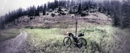 Given the rain we decided to go to the Moser Climb and forgo the Wildhorse Trail