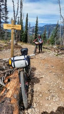 Mo finishes the Moose Jaw Climb