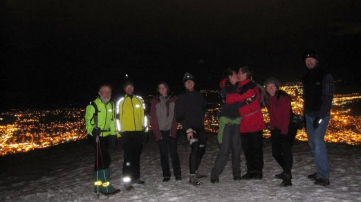 Thursday Night Group on Mount Sentinel
