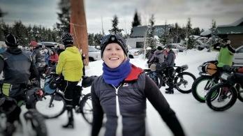 My friend Jill at the starting line.