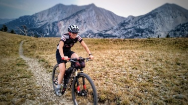 Mountain biking in the Bridger Range