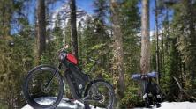 Riding to Hyalite Lake