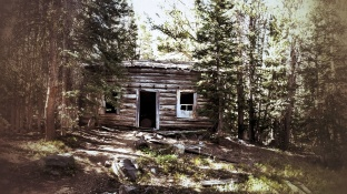 An old miners cabin on the way to Sailor Lake
