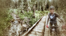 Mo crossing Fairy Creek