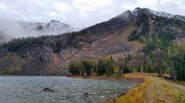 Noble Lake the next morning