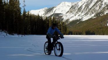 Across Twin Lakes