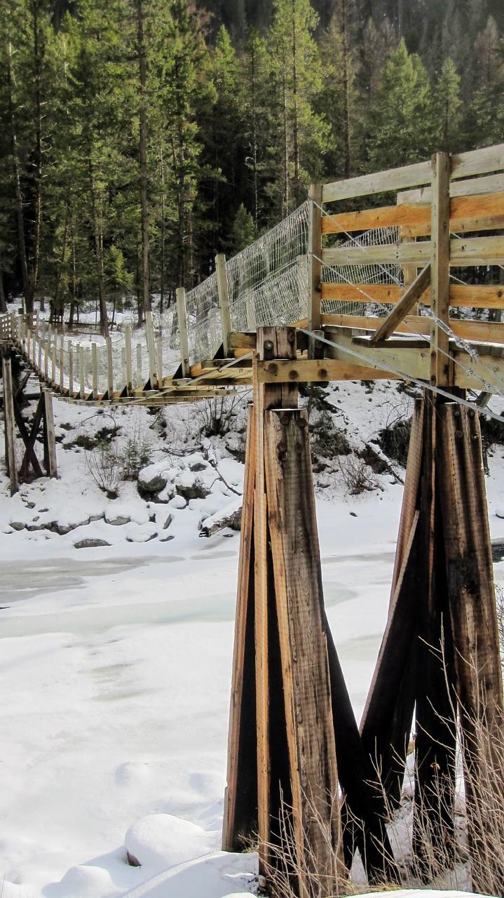 Welcome Creek Snowshoe