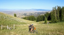Biking the high country