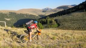 Decending to another ridge