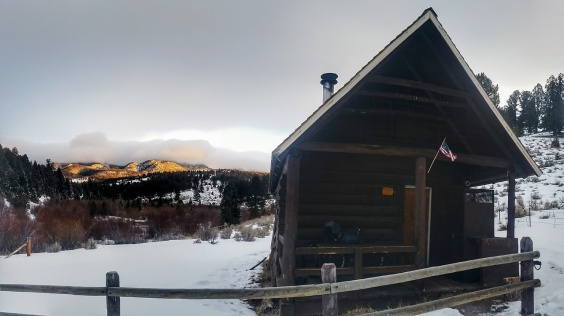 Morning at the cabin