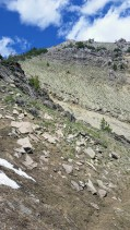 Some technical switchbacks.