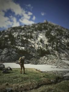 Checking out Summit Lake